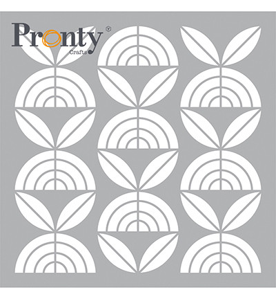 Pronty Crafts - Retro Pattern Flowers 6