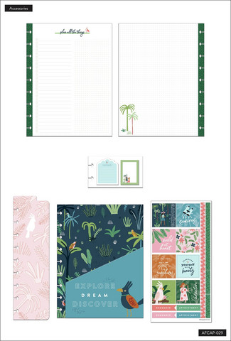 MAMBI - CLASSIC Planner Accessory Pack, Jungle Vibes