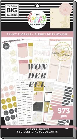 MAMBI - Happy Planner, Teacher - Fancy Florals, Tarrasetti, 30arkkia