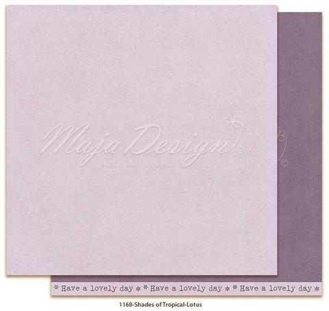 Maja Design - Monochromes, Tropical, Lotus