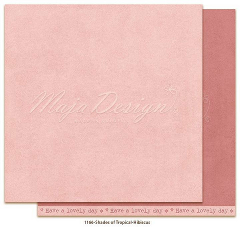 Maja Design - Monochromes, Tropical, Hibiscus