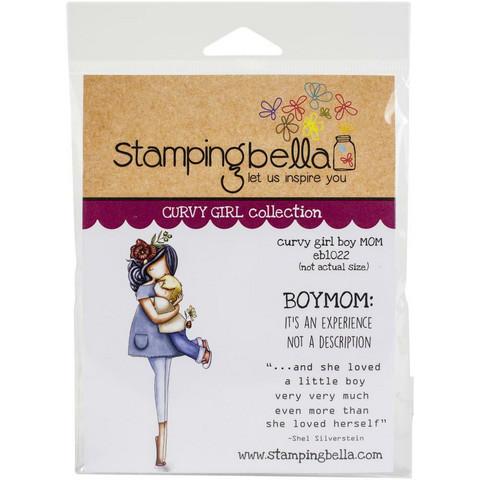 Stamping Bella - Curvy Girl Boy Mom, Leimasetti