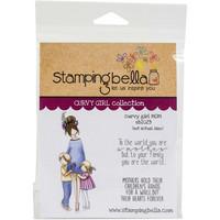 Stamping Bella - Curvy Girl Mom, Leimasetti