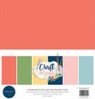 Carta Bella - Craft & Create, Solids Kit 12