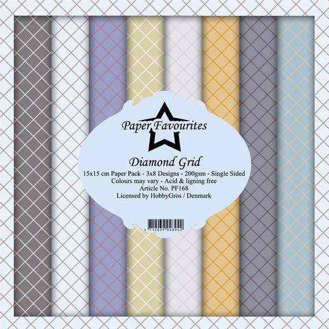 Paper Favourites - Diamond Grid 6