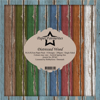 Paper Favourites - Distressed Wood 12