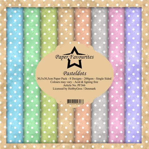 Paper Favourites - Pastel Dots 12