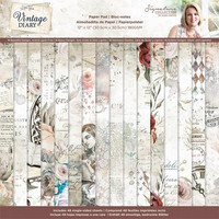 Crafter's Companion - Sara Signature Vintage Diary Collection, Paper Pad 12