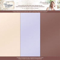 Crafter's Companion - Sara Signature Vintage Diary Collection, Luxury Pearl Paper Pad 12
