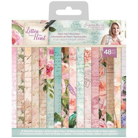 Crafter`s Companion - Sara Signature Letters From The Heart Collection, Paperikko 6