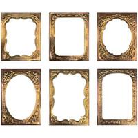 Tim Holtz - Idea-Ology Curio Frames, 6 kpl