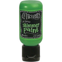 Dylusions - Shimmer Acrylic Paint, Cut Grass, 29ml
