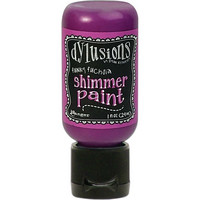 Dylusions - Shimmer Acrylic Paint, Funky Fuchsia, 29ml