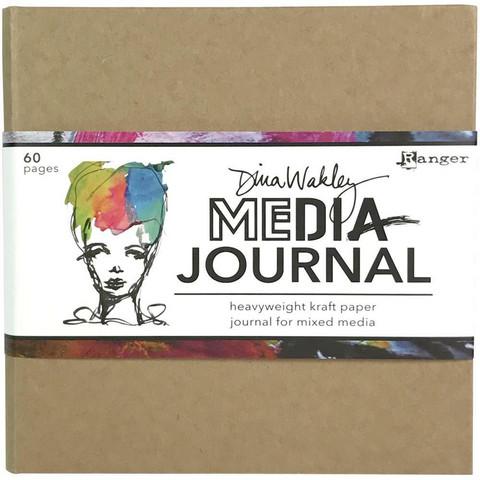Dina Wakley Media - Kraft Journal, 6