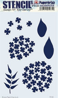 PaperArtsy - Stencil 150, Sapluuna