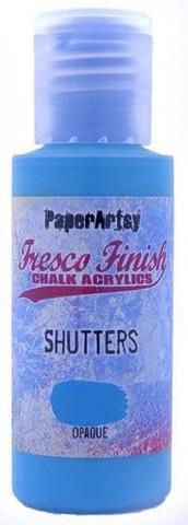 PaperArtsy - Fresco Finish, Akryylimaali, Shutters, 50ml