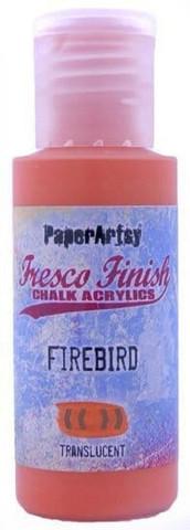 Paper Artsy - Fresco Finish, Akryylimaali, Fire Bird, 50ml