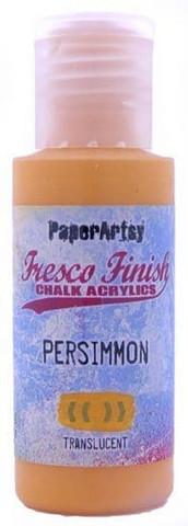 Paper Artsy - Fresco Finish, Akryylimaali, Persimmon, 50ml