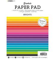 Studio Light - Paper Pad Unicolor Brights Essentials nr.4, A5, Paperikko