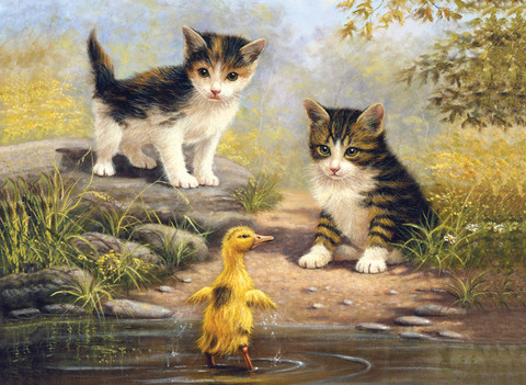 Royal&Langnickel - Paint By Numbers Kit, Pond Pals