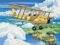 Royal&Langnickel - Paint By Numbers Kit, Nostalgic Plane