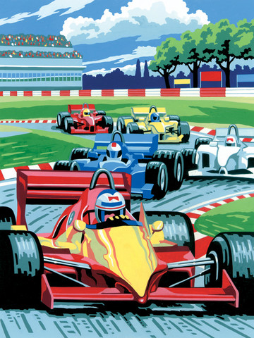 Royal&Langnickel - Paint By Numbers Kit, Grand Prix