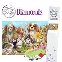 Dotty Designs - Pets (K)(P), Timanttimaalaus, 30x42cm