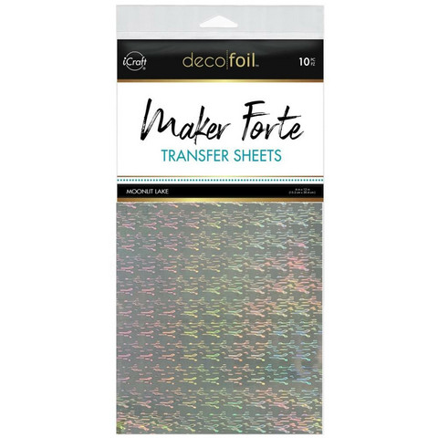 Deco Foil - Maker Forte Transfer Sheets (T), Moonlit Lake