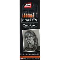 General`s - Charcoal Pencils Set
