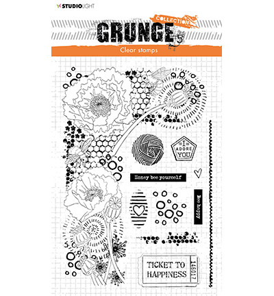 Studio Light - Grunge Collection Elements nr.42, Leimasetti