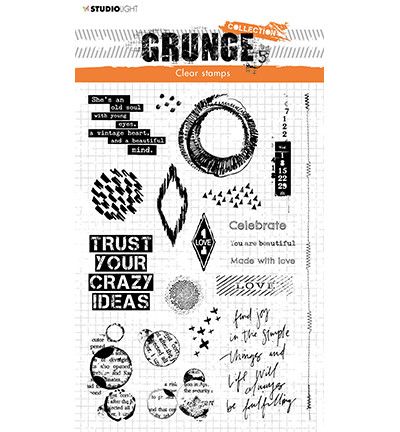 Studio Light - Grunge Collection Elements nr.43, Leimasetti