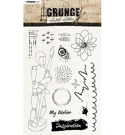 Studio Light - Grunge Artist's Atelier Wooden Mannequin nr.30, Leimasetti