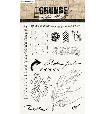 Studio Light - Grunge Artist's Atelier Feather nr.32, Leimasetti