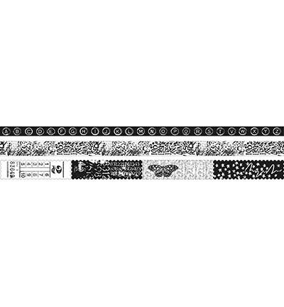 Studio Light  - Grunge Artist's Atelier Washi Tape nro.4, 3 rl