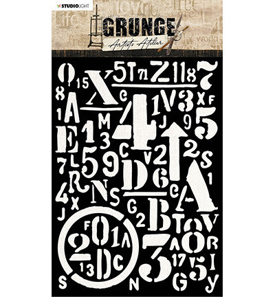 Studio Light - Grunge Artist's Atelier nro.13, Sapluuna
