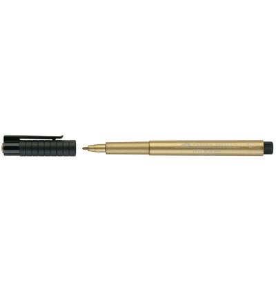 Faber-Castell - PITT Artist Pen, Kulta, 1,5mm