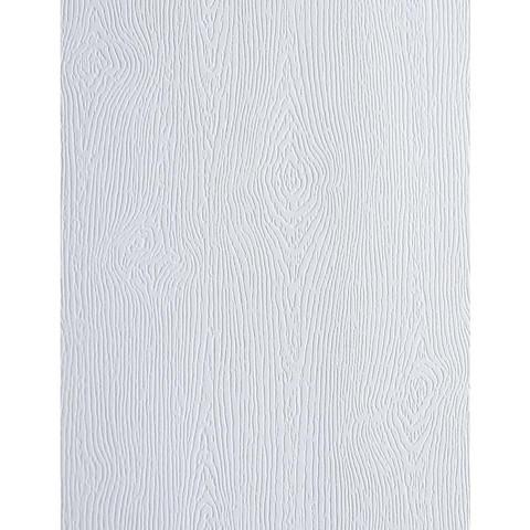 Memory Box - Embossed Woodgrain Cardstock, Valkoinen, 25 arkkia