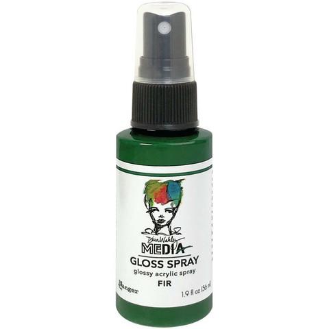 Dina Wakley Media - Gloss Spray, Fir, 56ml