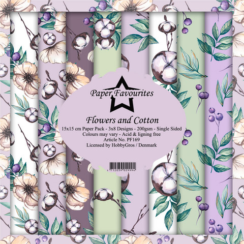 Paper Favourites - Flowers and Cotton 6