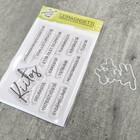 Korttipaja.fi - Kiitos, Leimasinsetti +stanssi