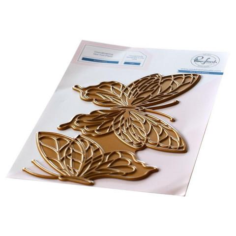 Pinkfresh Studio - Butterflies, Hot Foil Plate