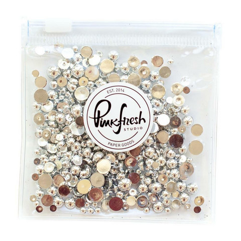 Pinkfresh Studio - Jewel Essentials, Silver