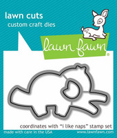 Lawn Fawn - I Like Naps, Stanssisetti
