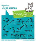 Lawn Fawn - Duh-nuh  Flip-flop, Leimasetti