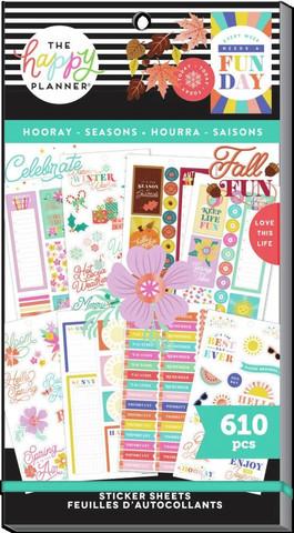 MAMBI - Happy Planner, Hooray Seasons, Tarrasetti, 30arkkia