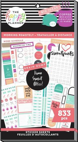MAMBI - Happy Planner, Work From Home, Tarrasetti, 30arkkia