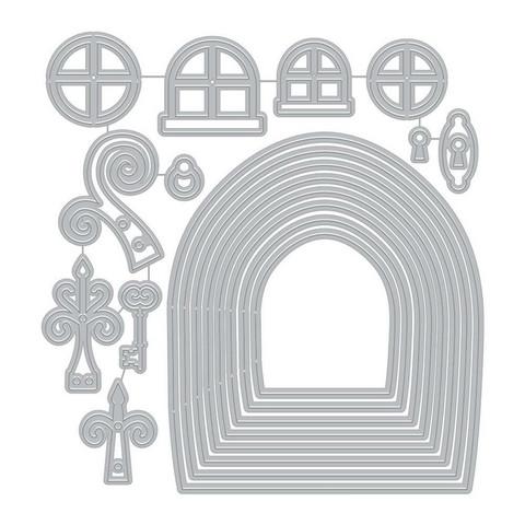 Hero Arts - Fairy Doors, Stanssisetti
