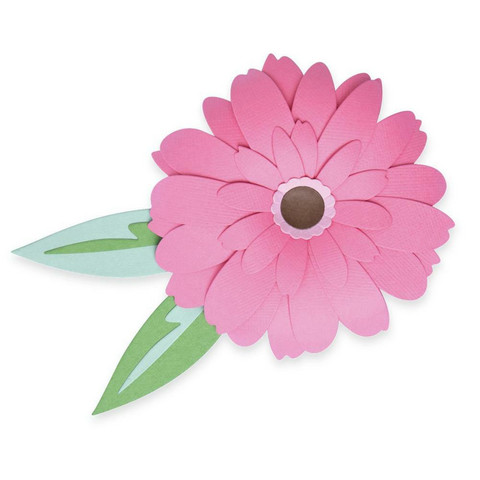 Sizzix -Thinlits Dies By Olivia Rose, Stanssisetti, Gerbera Flower