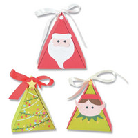 Sizzix -Thinlits Dies By Kath Breen, Stanssisetti, Christmas Character Box