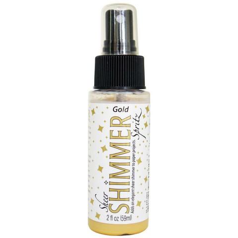 Sheer Shimmer Spritz-kimallesuihke, Gold, 59ml